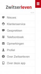 interne app voor medewerkers Zwitserleven